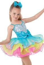 Girls Multi-Color Candyman Dance Costume by Weissman NWT Many Sizes Available