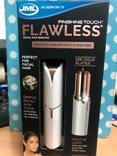 JML Finishing Touch Flawless Facial Hair Remover Discreet Pain-
