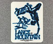 Powell Peralta LANCE MOUNTAIN Skateboard Sticker 4.5in blue si