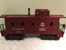 Lionel 6357 Lighted Caboose, Built 9-47