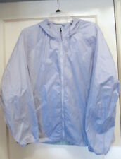NWOT The NORTH FACE unlined Windbreaker PACKABLE JACKET lt blue Women L Orig $69