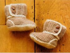 Baby's Crochet Pattern for Adorable Booties  0-12 months!!    (63)