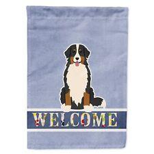 Caroline's Treasures Bb5617Gf Bernese Mountain Dog Welcome Flag Garden Size, .