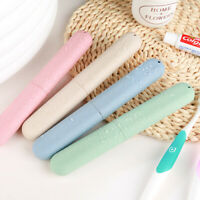 Travel Wheat Straw Toothpaste Toothbrush Case Portable Storage Box Container