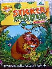 Album figurine STICKER MANIA DESPAR Stiloton avventura foresta tropicale