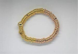 LINKS OF LONDON Ladies Yellow & Rose Gold Vermeil Sweetie Bracelet S NEW