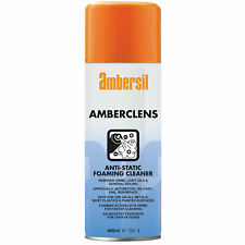 More details for ambersil 31592-aa amberclens anti-static foaming cleaner 400ml