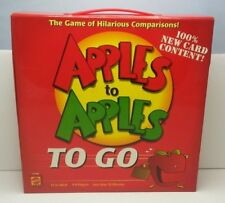 Apples to Apples To Go Game 2007 Mattel Complete Box Opened Cards Sealed