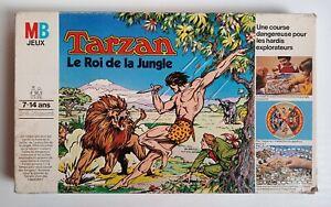 Jeu de Société Tarzan Le Roi de la Jungle 1977 MB complet