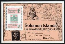 SOLOMON MNH 1979 MS387 100th Anniversary of the Death of Sir Rowland Hill