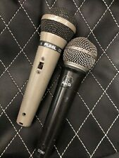 Akg D790 dynamic microphone (working) - Electro Voice Pl88L Microphone (parts)