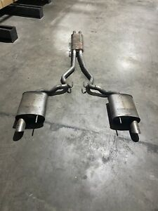 Stock Exhaust Ford Mustang GT 2016