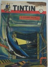 JOURNAL TINTIN N°164 LE SOUS MARIN FANTOME/ALIX/BARELLI 1951 ETAT CORRECT
