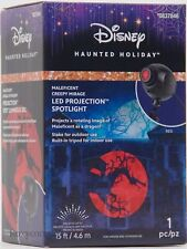 Disney Haunted Holiday Maleficent Creepy Mirage Projector Projection Spotlight