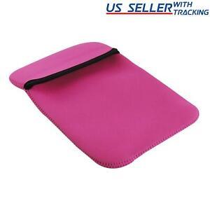 Reversible Neoprene Tablet Case (Pink and Black)