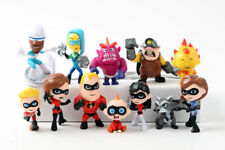 12Pcs Set The Incredibles 2 Movie Mini PVC Figures Models Kids Toys Gift UK