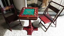 Franklin Mint MONOPOLY Deluxe Collectors Edition, Plus Table & Chairs