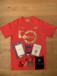 40th London Marathon 2020 Medal, New Balance Mens Womens Medium Running Top