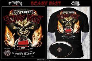"Cruz Pedregon ""Scary Fast"" T-Shirt"
