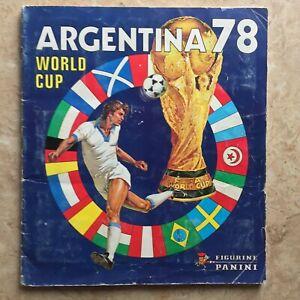 Panini 1978 Argentina World Cup 100% Complete 100% Original  *EX w/No Scores
