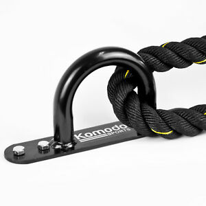 Komodo Battle Rope ANCHOR Wall Floor Resistance Band Fixed Heavy Ground Point