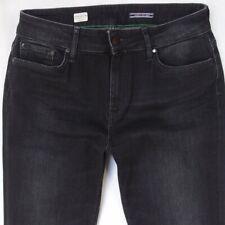 513398827 Womens Tommy Hilfiger VENICE RW Stretch Skinny Black Jeans W29 L32 UK Size  10