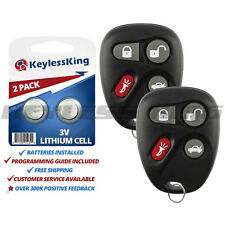 2x Keyless Entry Remote Key Fob for 2001 2002 2003 2004 Corvette C5 Koblear1xt