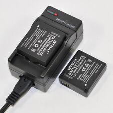 Charger +2x Battery For Panasonic DMW-BLG10E Lumix DC-GX9GK DC-LX100 M2GK DC-GX9