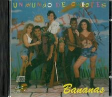 Bananas Un Mundo De Colores Latin Music CD New