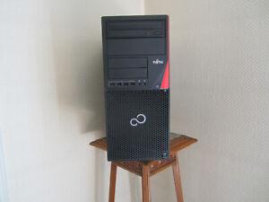 PCordinateur de bureau fujitsu P720 ,core I3 4ieme génération,RAM 8go,ssd120g +d
