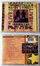 BRUCE SPRINGSTEEN Live In New York City .. 2001 Columbia DO-CD