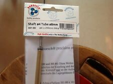 Raboesch 4mm shaft with tube for model boats 301-00