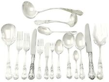 Vintage Mexican Sterling Silver Canteen of Cutlery for 12 Persons 137 pieces