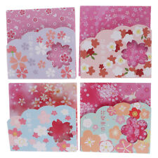 1Box square origami paper double sides cherry folding sakura papers DIY d F WG