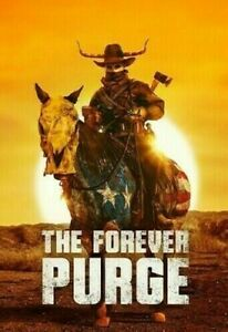 THE FOREVER PURGE DVD BRAND NEW SEALED 2021