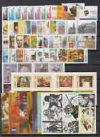 SPAIN - ESPAÑA - YEAR 2002 COMPLETE MNH WITH ALL THE STAMPS, BOOKLETS&MINISHEETS
