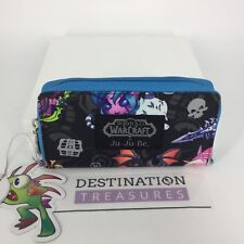 Ju-Ju-Be World of Warcraft Cute But Deadly Be Spendy Wallet Zip Around NWT