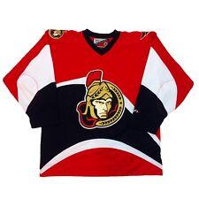 Vtg Rare NHL Ottawa Senators Pro Player Hockey Jersey. Men's Large.