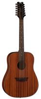 Dean Guitars Axs Series Dreadnought 12 String Acoustic Guitar, Mahogany Body, A