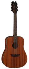 Dean Guitars Axs Series Dreadnought 12 String Acoustic Guitar, Mahogany Body, A