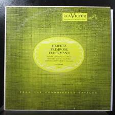 Heifetz - Mozart: Divertimento in E-Flat LP VG+ Mono RCA LCT-1150 USA 1954