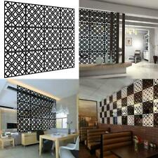 Kernorv Hanging Room Divider Decorative Screen Panels Made of Pvc Black-02