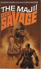 DOC SAVAGE #60: THE MAJII  by Kenneth Robeson - 1st Paperback Printing