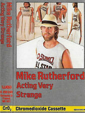 MIKE RUTHERFORD ACTING VERY STRANGE CASSETTE ALBUM GENESIS Pop Rock Prog Rock