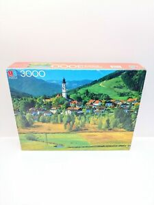Vintage MB Magnum 3000 PC Jigsaw Puzzle  Bayern, Germany  -  New & Sealed
