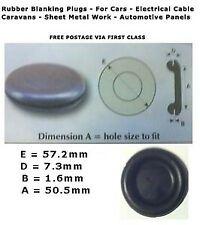 Caoutchouc noir câblage open oeillets trou câble câblage 6,9,12,16,20,25,32,38 /& 50mm