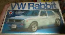 VINTAGE ENTEX 1/20 VW RABBIT VOLKSWAGEN 1/204 MODEL CAR MOUNTAIN KIT FS 9165