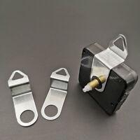 10 Pcs Wall Clock Hook Quartz Movement Mechanism Metal Hanger DIY Accessories