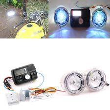 Bluetooth Waterproof Motorcycle Audio FM MP3 Radio Host Coloured Lamp Speaker