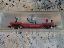 NEW IN BOX N #4100 SEARCHLIGHT CAR WITH FIGURES MODEL POWER TRAINS